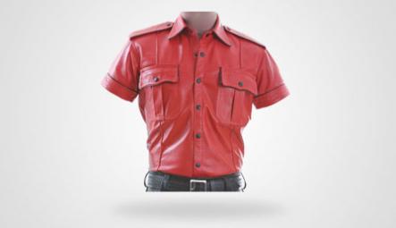Leder Hemden & Westen