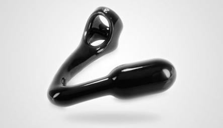 Penisringe mit Plug