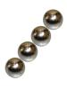 4 Magnetkugeln 10mm für Brustwarzen