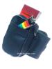 Armtasche oder Beintasche mit Klettverschluß - schwarz