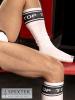 BARCODE Socken weiss/schwarz: TOP