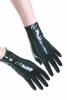 Gummi-Handschuhe bis Handgelenk DÜNN schwarz