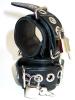 SPEXTER Leder-Handfesseln, abschließbar