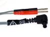 Reizstrom Adapter #13 - 2mm Stifte zu Mystim Stecker