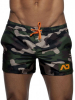 ADDICTED Camouflage Swimwear Badehose