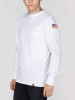Alpha Industries NASA Long Sleeve Shirt - white