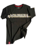 Alpha Industries T-Shirt Foil Print metalsilver