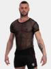 Barcode Shirt Malu - schwarz