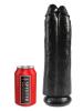 Dildo KING COCK 11 inch - Zwei für Eins - schwarz