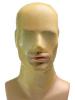Gummi-Maske MIT Mundöffnung - transparent