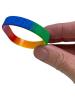 Gay Pride Regenbogen Armband aus Silikon