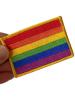 Gay Pride Aufnäher rechteckig