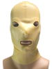 Gummi-Maske ZWEITEILIG - transparent