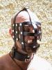 Harness für den Kopf aus Lederstreifen