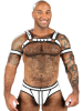 Mister S Neo BOLD COLOR BULLDOG Harness - weiss
