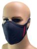 Mister S Neopren Face Mask schwarz-rot