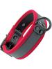 Mister S Neopren Puppy Halsband - schwarz/rot