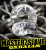 Oxballs Cockring MASTER/SLAVE - transparent-clear