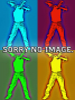 Gay Pride RAINBOW Brille Metallrahmen