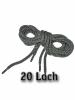 Schnürsenkel für20 Loch - Boots bzw. Stiefel GRAU
