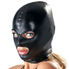 Spandex Maske, klassisch WET-LOOK glänzend