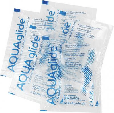Aqua Glide medizinisches Gleitgel 10 x 3,0