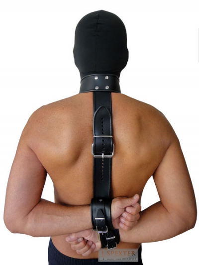Bondage-Hals-/Rücken-/Hände-Kombi