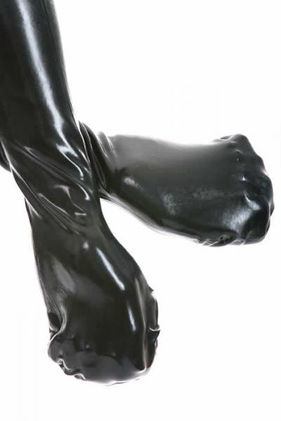Gummi-Fäustlinge / Handschuhe