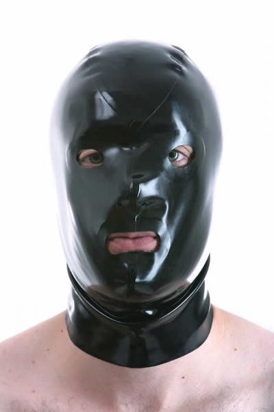 Gummi-Maske DREITEILIG