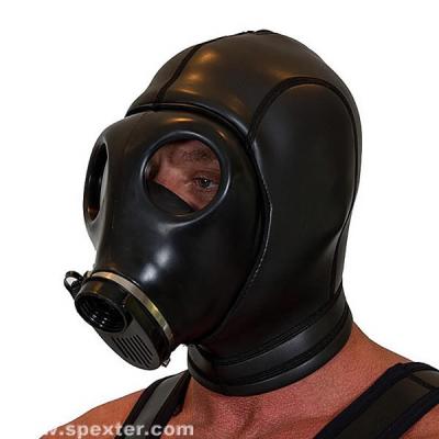 Neopren-Gasmaske