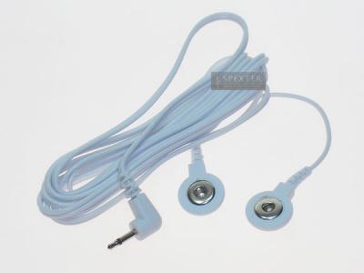 Reizstrom Adapter #18 - 2.5mm Klinkenstift und 4mm Knopf-Buchse