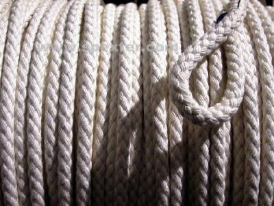 Seil, Baumwolle naturweiß