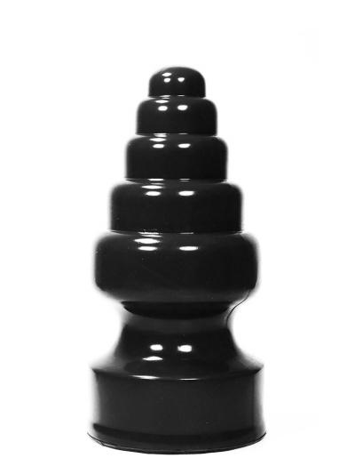 Mega großer 5-Stufen Plug schwarz