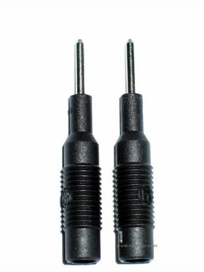 Reizstrom Adapter #3 - 2mm Stift und 4mm Buchse