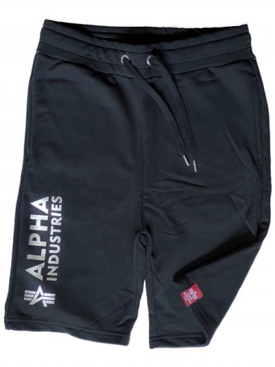 Alpha Industries Basic Short Foil Print metalsilver