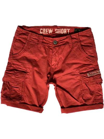 Alpha Industries Crew Short - rbf red