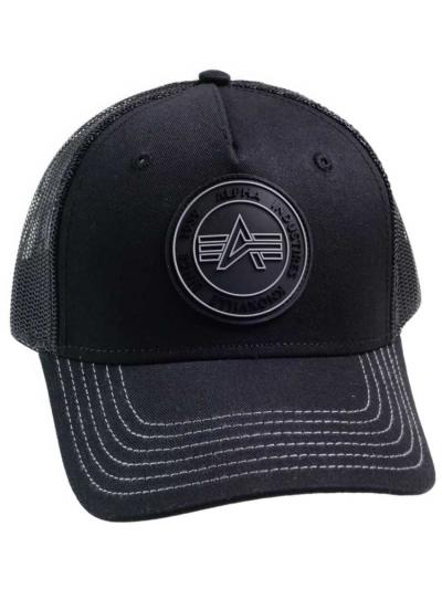 Alpha Industries Trucker Patch Cap - schwarz