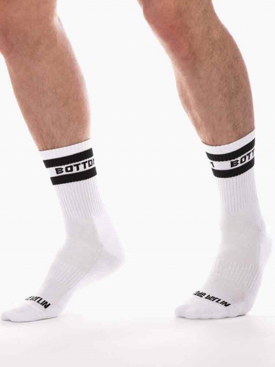 BARCODE BOTTOM Fetish Half Socks