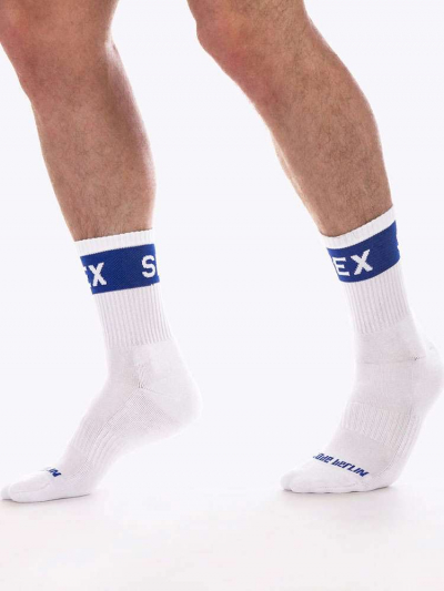 BARCODE SEX Fetish Half Socks
