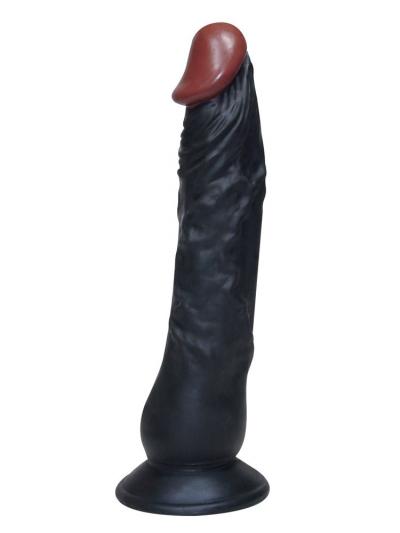 Dildo AFRICAN LOVER mit Saugnapf 23cm