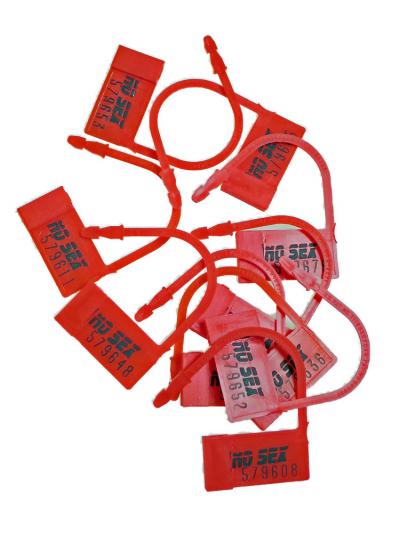 Einweg-Schlösser rot 10 Stück
