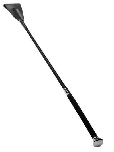Gerte lang, silberner Knauf - 60cm