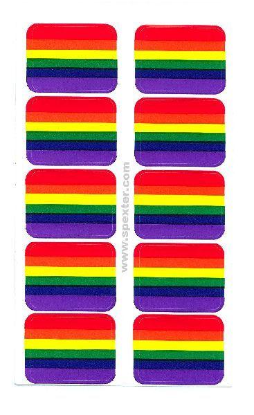 Gay Pride Aufkleber