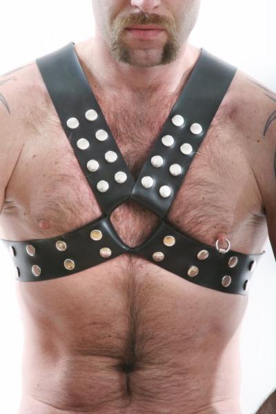Gummi-Harness für Oberkörper
