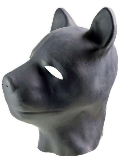 Gummi Puppy-Maske - Doggymaske