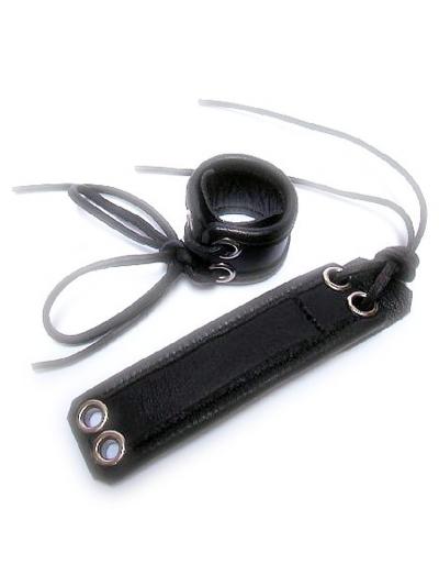 Leder-Ballstretcher 3cm breit zum Schnüren