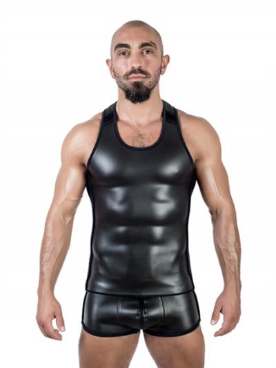 Mister B Neopren Tank Top - schwarz