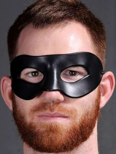 Mister S Ledermaske SUPERHERO