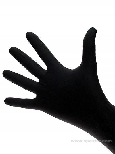 Nitril Einmal-Handschuhe - 100er Pack - schwarz
