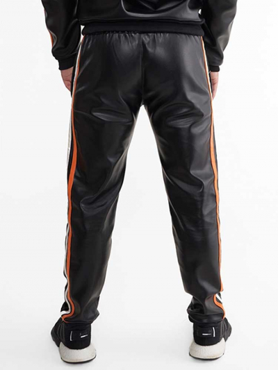 Riegillio Tracksuit Pants orange Streifen